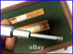 MACHINIST TOOLS LATHE MILL Mitutoyo 146 211 1 Inside Groove Micrometer BlkCse