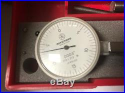 MACHINIST TOOLS LATHE MILL Mitutoyo 513 212.0005 Dial Indicator Gage ShE