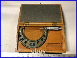 MACHINIST TOOLS LATHE MILL Mitutoyo Micrometer Gage 3 to 4 ShE