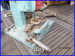 MACHINIST TOOLS LATHE MILL Perkins Machine Co Bench Top Punch Press