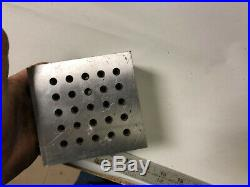 MACHINIST TOOLS LATHE MILL Precision Ground Angle Block Plate Anton Tools OfCe