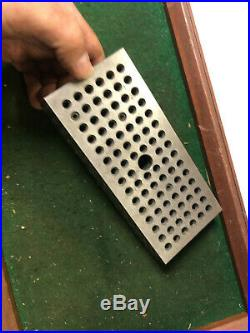 MACHINIST TOOLS LATHE MILL Precision Ground Set Up Block Threaded Holes TpOk InV