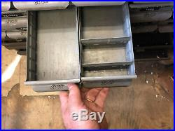 MACHINIST TOOLS LATHE MILL Signed Equipto Industrial 24 Drawer Cabinet Modern
