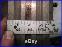 MACHINIST TOOLS LATHE MILL Small Micro Jewelers Lathe Cross Slide