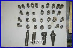 MACHINIST TOOLS LATHE set of collets make offer