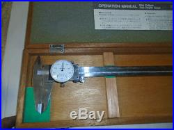MACHINIST TOOLS MILL LATHE A Machinist Mituotyo Dial Caliper Gage 505 635 D 30