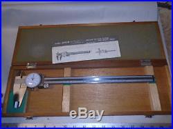 MACHINIST TOOLS MILL LATHE B Machinist Mituotyo Dial Caliper Gage 505 635 D 30