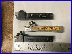 MACHINIST TOOLS MILL LATHE Lot of Carbide Insert Lathe Cutting Tools DrNt