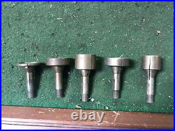 MACHINIST TOOLS MILL LATHE Lot of Watchmaker Jewelers Lathe 8 MM Collets BkCs