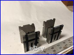 MACHINIST TOOLS MILL LATHE Machinist 2 Unusual Tool Makers V Blocks ShE