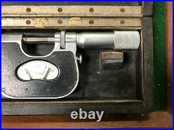 MACHINIST TOOLS MILL LATHE Machinist Carl Mahr Indicating Micrometer Gage BkCs A