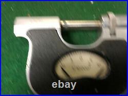 MACHINIST TOOLS MILL LATHE Machinist Carl Mahr Indicating Micrometer Gage BkCs b