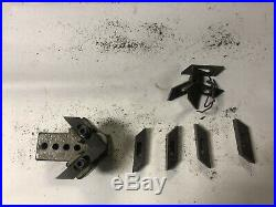 MACHINIST TOOLS MILL LATHE Machinist DoAll Band Saw Blade Guide Lot RndCb