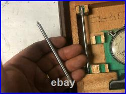 MACHINIST TOOLS MILL LATHE Machinist Mitutoyo Dial Depth Gage Micrometer OkCb A