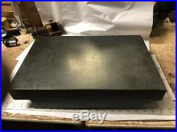 MACHINIST TOOL LATHE Granite Step Surface Plate 12 by 18 4 High Bsmt a