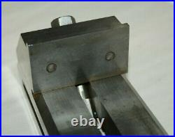MACHINIST TOOL LATHE MILL 2-1/2 wide jaws ground precision grinding vise