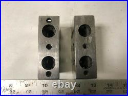 MACHINIST TOOL LATHE MILL 2 Precision Moore Tools 1 2 3 Parallel Blocks DrAa