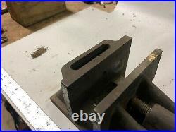 MACHINIST TOOL LATHE MILL 5 1/2 Wide Jaws Unusual Mill Drill Vise BsmT