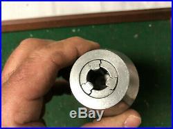 MACHINIST TOOL LATHE MILL Albrecht Keyless Drill Chuck 1/32 1/2 & R8 Arbor DrCc