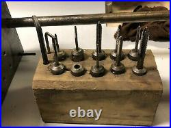 MACHINIST TOOL LATHE MILL Bench Table Top Hand Tap Tapping Fixture BsmT