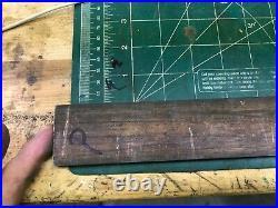 MACHINIST TOOL LATHE MILL Brass Rod Bar Stock 3/16 x 1 3/4 x 47 Total InVst P