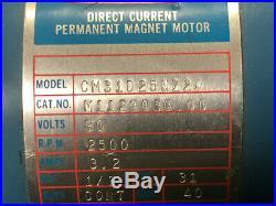 MACHINIST TOOL LATHE MILL Leeson Direct Current Perm Magnet Motor OkCb