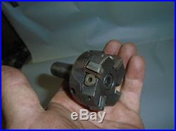 MACHINIST TOOL LATHE MILL Machinist 3/4 Shank. Carbide Insert Face End Mill