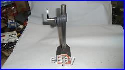 MACHINIST TOOL LATHE MILL Machinist Brown & Sharpe Magnetic Indicator Gage Stand