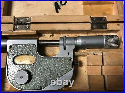 MACHINIST TOOL LATHE MILL Machinist Carbide Tip Indication Micrometer Gage DrA