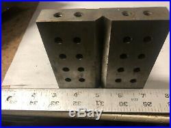 MACHINIST TOOL LATHE MILL Machinist Ground Angle Block Fixture OkCbs