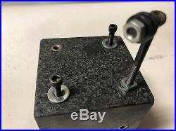 MACHINIST TOOL LATHE MILL Machinist Precision Threaded Granite Set Up Block Gage