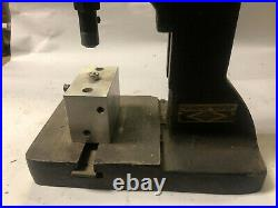 MACHINIST TOOL LATHE MILL Machinist Producto Bench Top Punch Press Tool DrWy
