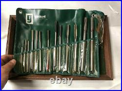 MACHINIST TOOL LATHE MILL Machinist Set of Reamers in Case RndCb