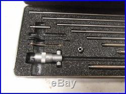 MACHINIST TOOL LATHE MILL Machinist Starrett Inside Micrometer Gage Gauge /fasd