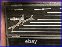 MACHINIST TOOL LATHE MILL Machinist Starrett Inside Micrometer Gage ShE