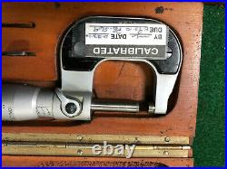 MACHINIST TOOL LATHE MILL Machinist Tesamaster Swiss Micrometer Gage ShB