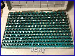 MACHINIST TOOL LATHE MILL Meyer Pin Gage Gauge Set in Case. 251.500 + AcStnd