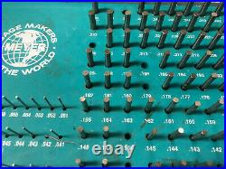 MACHINIST TOOL LATHE MILL Meyer Pin Gage Gauge Set in Case AcStnd
