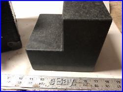 MACHINIST TOOL LATHE MILL Precision DoAll Granite Step Surface Plate Block