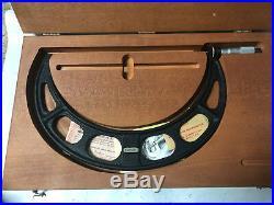 MACHINIST TOOL LATHE MILL Starrett 10 11 Micrometer Gage Gauge