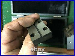 MACHINIST TOOL LATHE MILL Tool Makers Set Interchangable V Blocks Fixtures GrnC