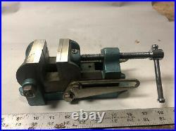 MACHINIST TOOL LATHE MILL UNUSED Wilton Adjustable Angle 2 1/2 Vise OfCe