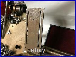 MACHINIST TOOL LATHE MILL Vintage PTA Pultra Lathe BsmnT