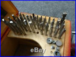 MACHINIST TOOL LATHE MILL Watch Maker Jeweler Favorite GB Swiss Staking Tool Set