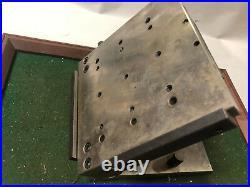 MACHINIST TOOL LATHE Machinist Adjustable Angle Sine Plate Fixture Block 6 X 6