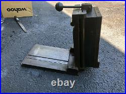MACHINIST TOOL LATHE Machinist Grinder Magnetic Chuck on Multi Angle Sine Plate
