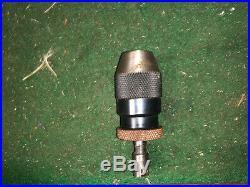 MACHINIST TOOL LATHE Machinist Micro Albrecht Keyless Drill Chuck 0 1/8 ShK