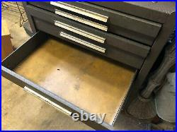 MACHINIST TOOL LATHE Machinist Triple Stack Kennedy Machinist Tool Box FrBk