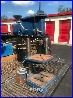 MACHINIST TOOL LATHE Machinist Vintage Craftman Bench Top Drill Press