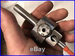 MACHINIST TOOL MILL LATHE MILL Machinist Micro Jewelerse Mill Boring Head DrA